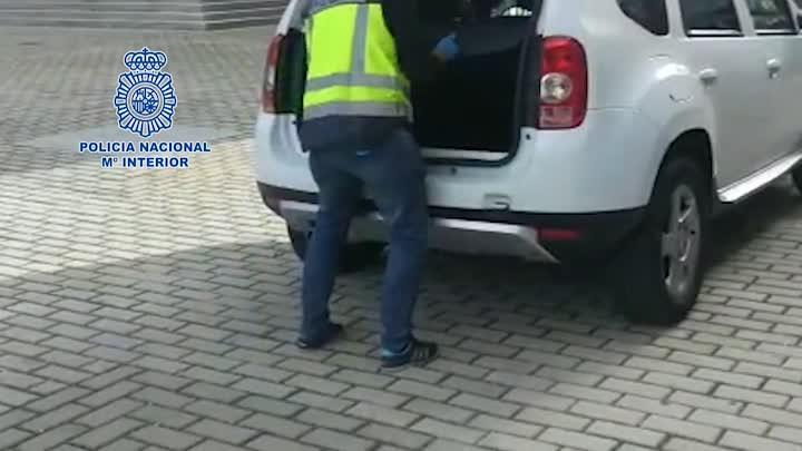 La Policía Nacional aborta el pase de unos 150 kilos de cocaína en la madrileña estación de Atocha
