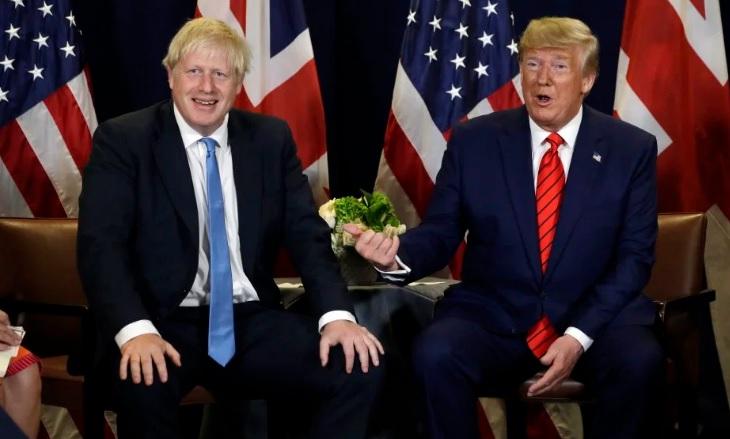El presidente Trump apoya a Boris Johnson después de que el primer ministro del Reino Unido, perdido en la corte