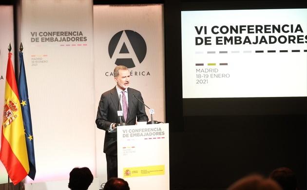 CLAUSURA DE LA CONFERENCIA DE EMBAJADORES DE ESPAÑA